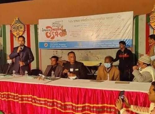 পিরোজপুরের ভান্ডারিয়ায় মুক্তমঞ্চের শুভ উদ্বোধন অনুষ্ঠিত
